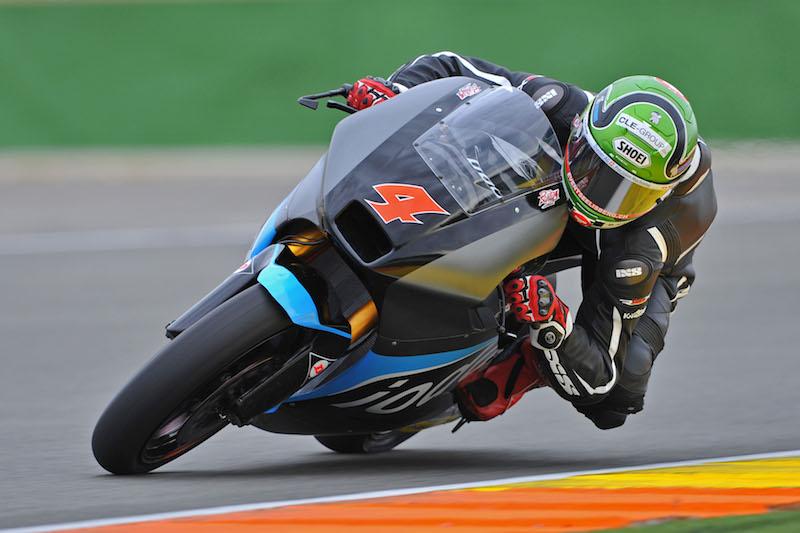 Moto2: Test Valencia Day 2, Krummenacher si ferma in anticipo