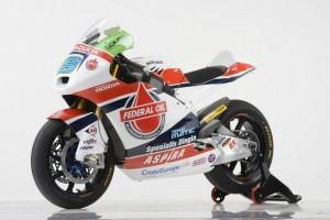 Moto2: Svelata la livrea del Team Federal Oil Gresini