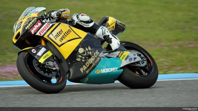 Test Jerez Day 2, Luthi si conferma il più veloce della sessione unica riservata alla Moto2