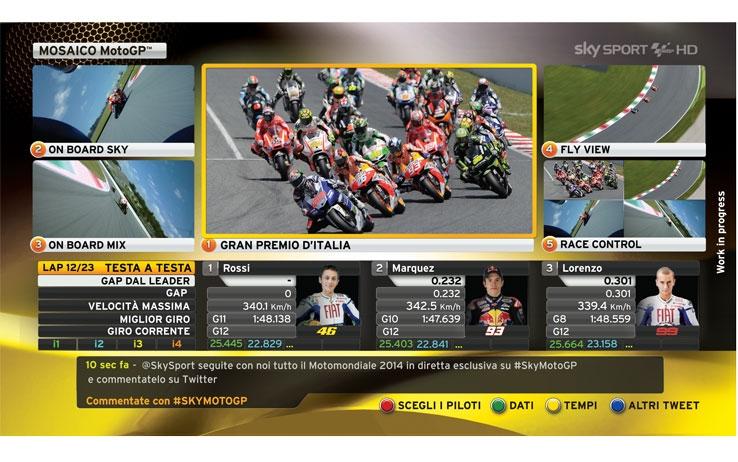 MotoGP e Superbike divise tra Sky e Mediaset