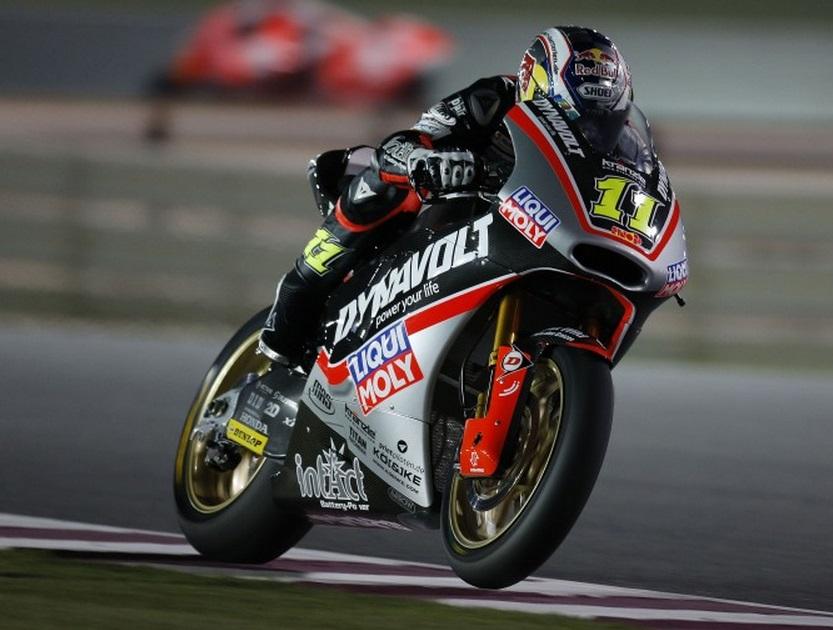 Moto2 Qatar, Prove Libere 3: Sandro Cortese è il più veloce