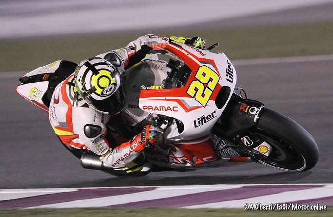 """MotoGP Qatar, Day1: Andrea Iannone """"Sono contento di essere il primo pilota Ducati"""""""