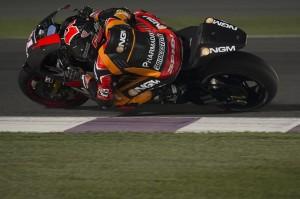 MotoGP: Test Losail Day 3, Aleix Espargarò chiude con il record, il fratello Pol 2° e fratturato