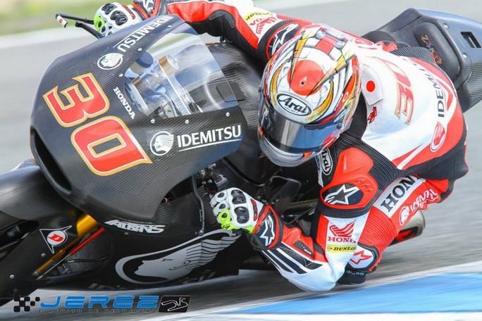 Moto2: Test Jerez Day 3, Nakagami davanti a tutti anche nella seconda sessione