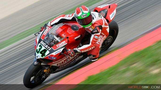 Superbike: Ducati soddisfatta delle qualifiche