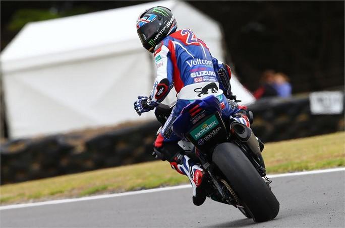 Superbike: Giornata difficile per il team Voltcom Suzuki