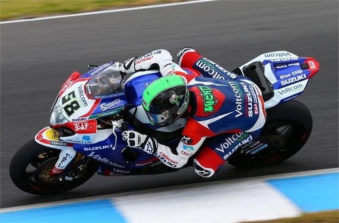 Superbike: Moderata soddisfazione in casa Suzuki
