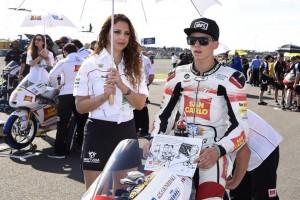 Moto3 Argentina: Frattura alla mano per Andrea Locatelli, scivolata per Matteo Ferrari