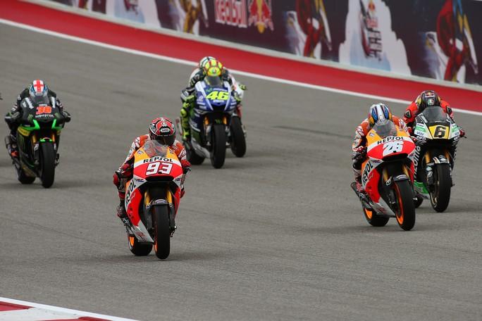 MotoGP: I numeri del GP d'Argentina, terza tappa del motomondiale 2014