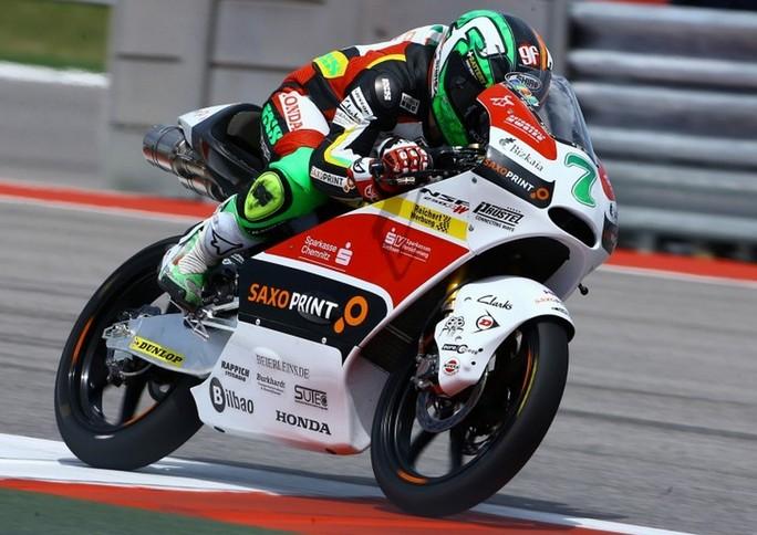 Moto3 Austin, Warm Up: Vazquez al comando, bene Antonelli