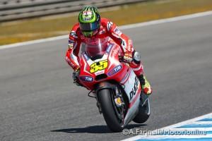 """MotoGP Jerez: Cal Crutchow """"Domani e domenica sarò in pista"""""""