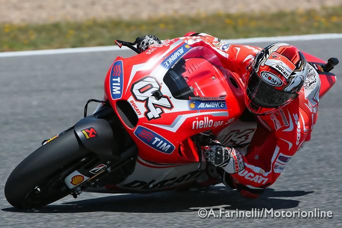 """MotoGP Jerez: Andrea Dovizioso """"Oggi siamo andati abbastanza bene"""""""