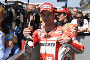 """MotoGP Le Mans: Andrea Dovizioso """"Favolosa prima fila, ma sarà difficile salire sul podio"""""""