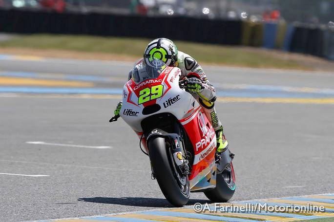 """MotoGP Le Mans: Andrea Iannone """"Mi dispiace per la caduta, cercheremo di rifarci al Mugello"""""""