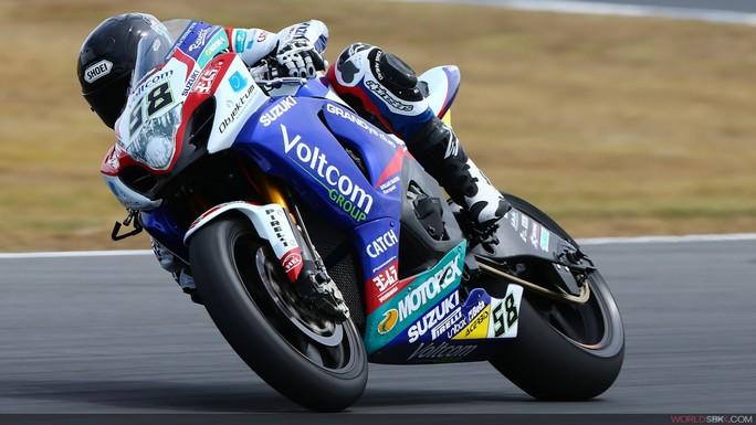 Superbike: Suzuki lontana da primi ad Imola