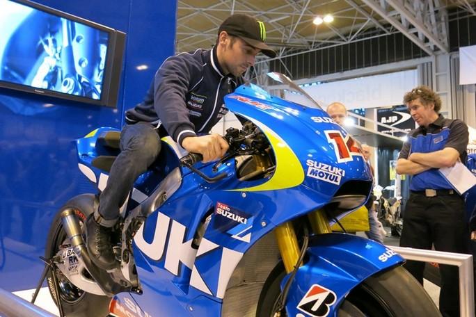 Eugene Laverty proverà la Suzuki MotoGP