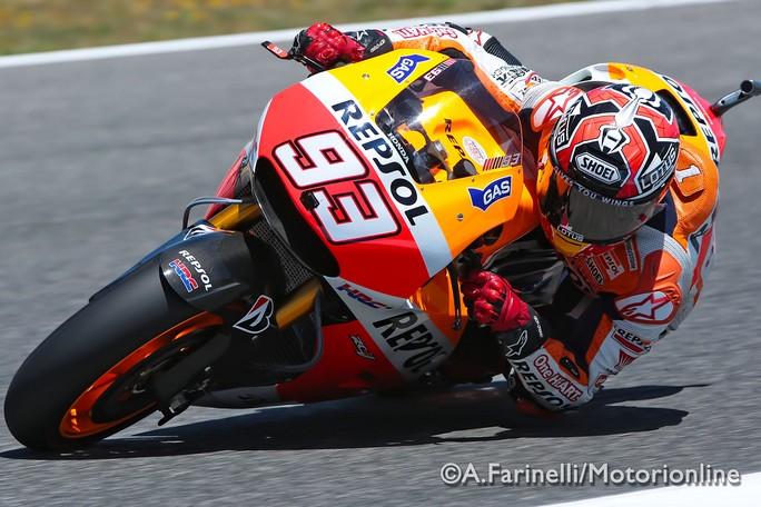 "MotoGP Jerez: Marc Marquez ""Prima giornata positiva"""