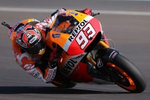MotoGP Jerez, Prove Libere 2: Marquez in testa, Dovizioso 3°, Rossi 4°