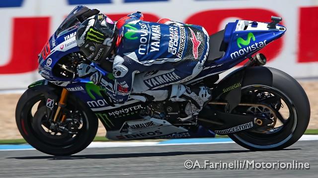 """MotoGP Jerez: Jorge Lorenzo """"Ho dato tutto per prendere Rossi ma la moto andava male oggi"""""""