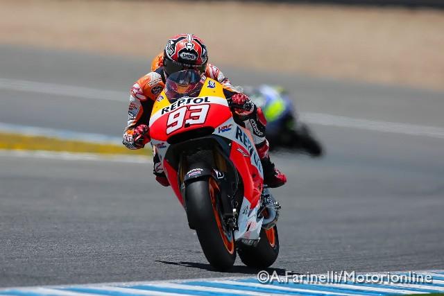"""MotoGP Test Jerez: Marc Marquez """"Abbiamo provato diverse cose che non abbiamo il tempo di verificare in gara"""""""