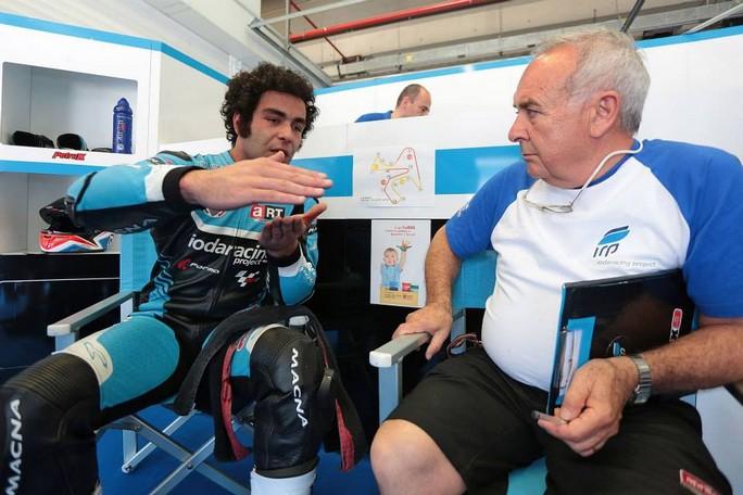 MotoGP Jerez: Frattura del polso sinistro per Danilo Petrucci, salta il GP di Spagna