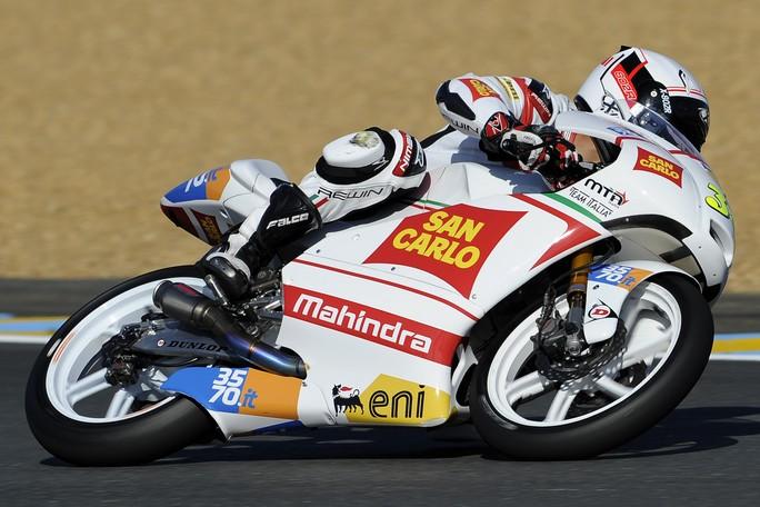 """Moto3 Le Mans: Michael Ruben Rinaldi """"Non male come inizio"""""""