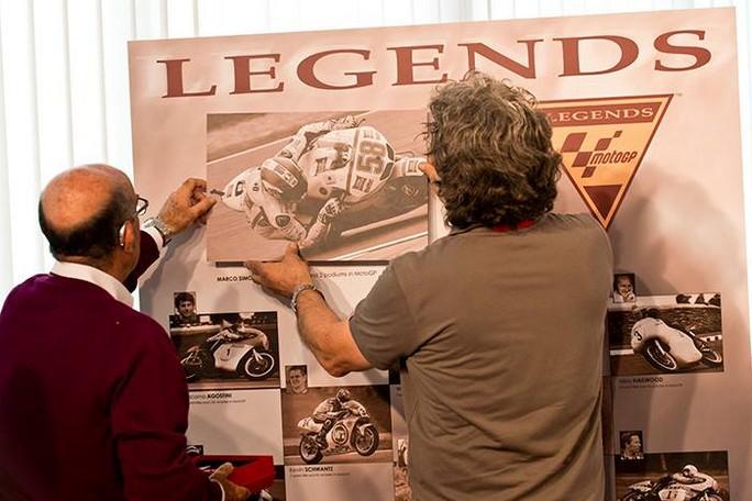 Marco Simoncelli entra ufficialmente nella Hall of Fame MotoGP Legends