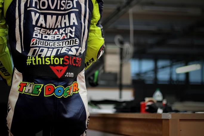 MotoGP:  #thisforSIC58, Valentino Rossi ricorda così l'amico Marco Simoncelli