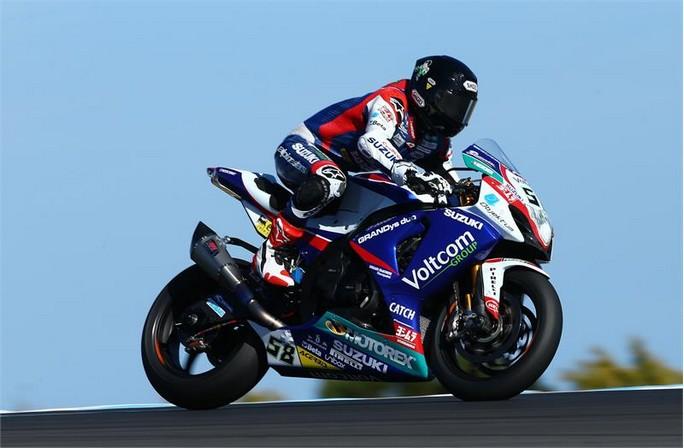 Superbike: Suzuki ancora sul podio con Laverty