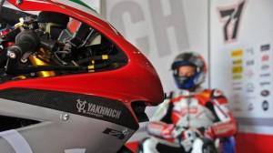 Divorzio tra il team Yakhnich e MV Agusta