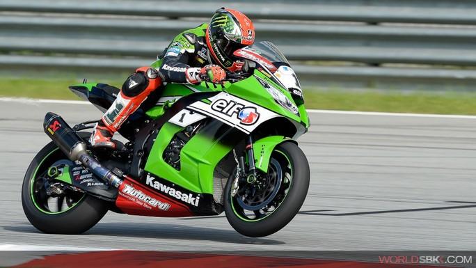 Superbike: A Sepang Tom Sykes è il più veloce nel Warm Up