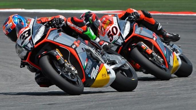 Superbike: I piloti Aprilia sono pronti per Misano