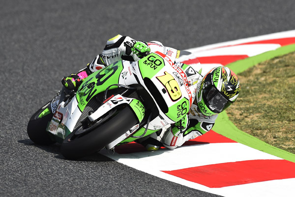 """MotoGP Barcellona, Prove Libere: Alvaro Bautista """"Non riesco a curvare la moto perchè non sento l'anteriore"""""""