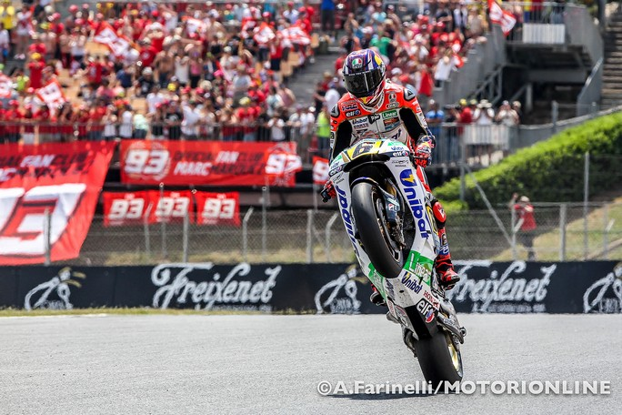 "MotoGP Catalunya Stefan Bradl: ""Sono contento per il quarto posto"""
