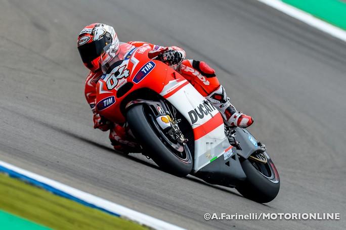 """MotoGP: Andrea Dovizioso """"Qualifiche pericolose, se piove sarà un incognita"""""""