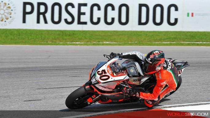 Superbike: Guintoli domina l'ultimo turno di libere a Sepang