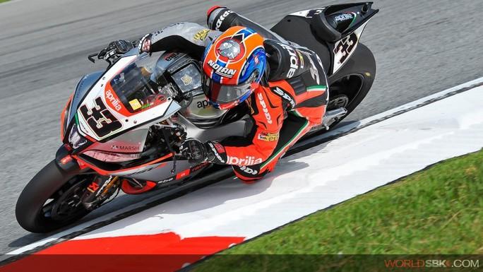 Superbike: Gioia Melandri in Gara 1