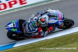 """MotoGP Assen, Qualifiche: Jorge Lorenzo """"Domani alla prima curva devo cercare di passare più piloti possibili"""""""
