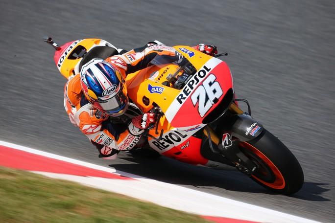 """MotoGP Catalunya: Dani Pedrosa """"Il braccio ha reagito meglio che al Mugello"""