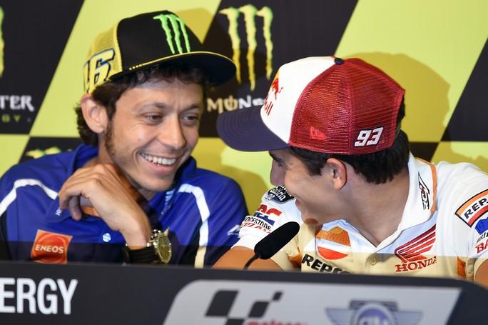 """MotoGP Barcellona: Valentino Rossi """"Difficile battere Marquez e Lorenzo ma ci proveremo"""""""