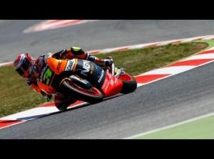 Moto2 Sachsenring, Prove Libere 1: Miglior tempo per Simone Corsi