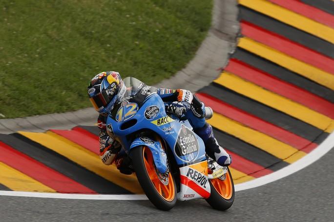 Moto3 Sachsenring, Warm Up: Alex Marquez davanti a Fenati e Bastianini