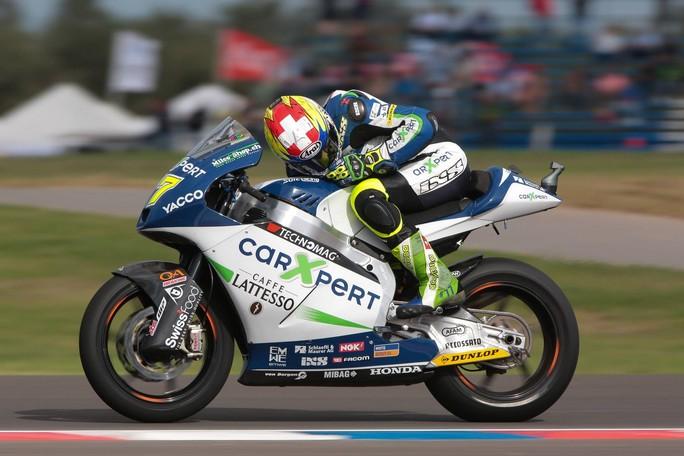 Moto2 Sachsenring: Prima pole in carriera per Dominique Aegerter