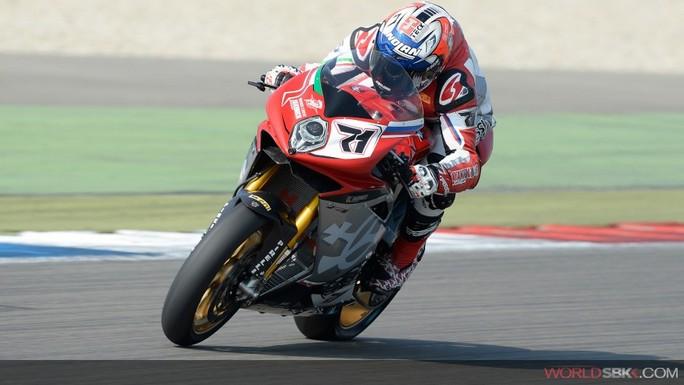 Superbike: Claudio Corti in forse per Laguna Seca