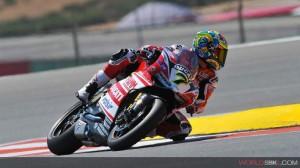 Superbike: Giornata in salita per il team Ducati Superbike