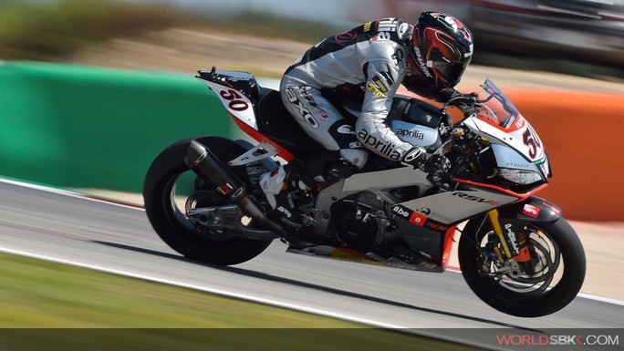 Superbike: Sylvain Guintoli si prende le prime prove libere a Laguna Seca