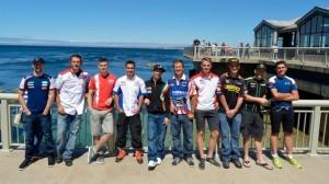 Superbike: I piloti alla scoperta del mare