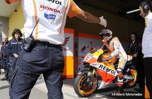 MotoGP Sachsenring, Warm Up: Marquez al Top, seguono Lorenzo e Bradl