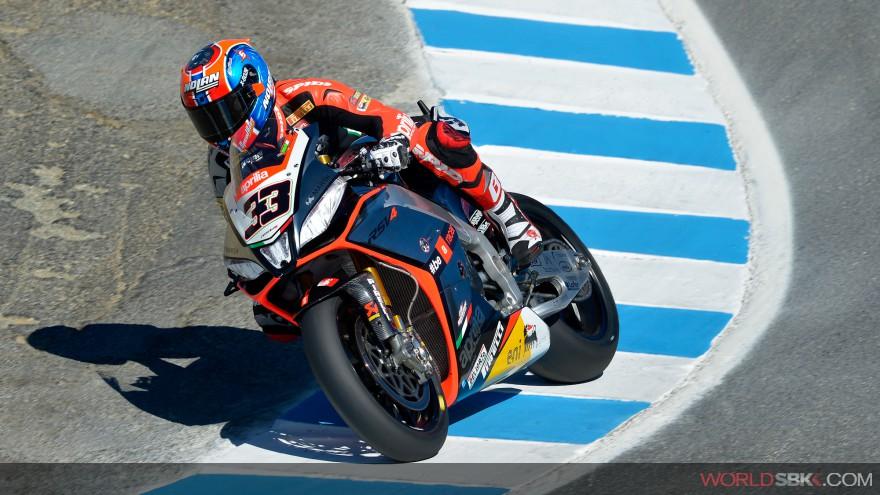 Superbike: Un grande Marco Melandri si prende  Gara 1 a Laguna Seca