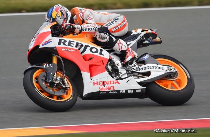 """MotoGP Sachsenring: Dani Pedrosa """"E' stata una buona qualifica e domani spero non piova"""""""